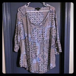 Fred David 1X blouse